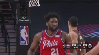 NBA, i 35 punti di Joel Embiid contro Portland