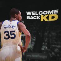 NBA, il tributo di Golden State a Kevin Durant