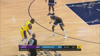 NBA, i 30 punti di LeBron James contro Minnesota
