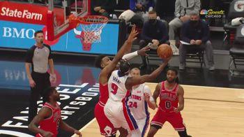NBA, i 43 punti di Jerami Grant contro Chicago