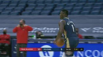 NBA, i 36 punti di Zion Williamson contro Portland
