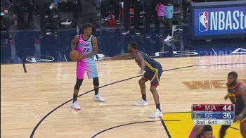NBA, la tripla doppia di Jimmy Butler contro Golden State