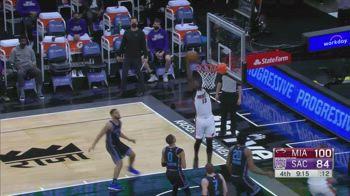 NBA, tripla doppia per Bam Adebayo contro Sacramento