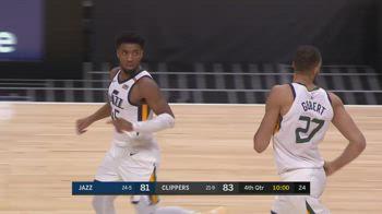 NBA, 35 punti per Donovan Mitchell contro i Clippers