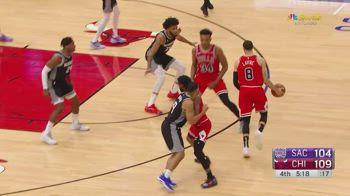 NBA, i 38 punti di Zach LaVine contro Sacramento
