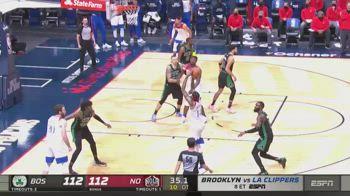 NBA, 33 punti per Brandon Ingram contro Boston