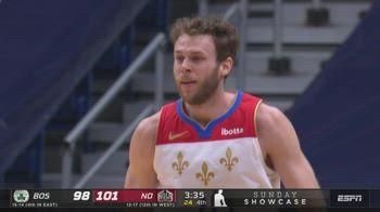 NBA, 3 punti per Nicolò Melli vs. Boston