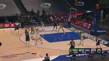 NBA, la prima magia di Doncic vs. Boston