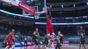 NBA, 34 punti per Zion Williamson contro Milwaukee