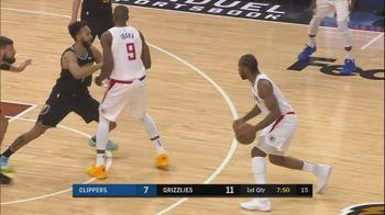 NBA, i 30 punti di Kawhi Leonard contro Memphis