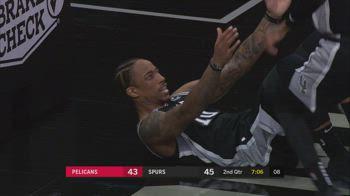 NBA, i 32 punti di DeMar DeRozan contro New Orleans