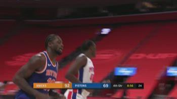 NBA Highlights: Detroit-New York 90-109