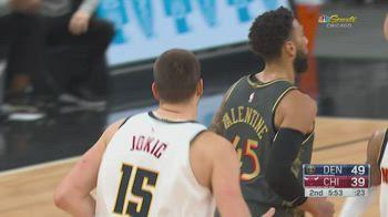 NBA, i 39 punti di Nikola Jokic contro Chicago