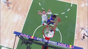 NBA, il canestro pazzesco di Jamal Murray contro Milwaukee