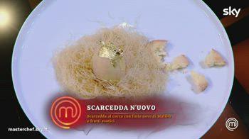Finale MasterChef 10: Il dolce del finalista Aquila