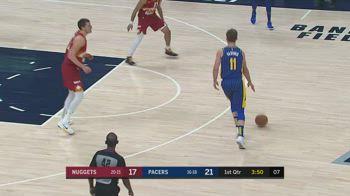 NBA, la tripla doppia di Domantas Sabonis contro Denver