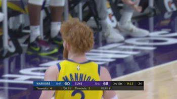NBA, 9 punti per Nico Mannion contro i Phoenix Suns