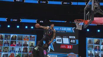 All-Star Game NBA: la seconda schiacciata di Obi Toppin