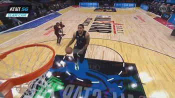 All-Star Game NBA: la schiacciata finale di Obi Toppin
