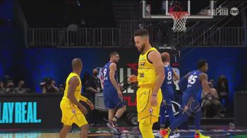 All-Star Game NBA: le triple di Steph Curry in partita