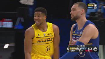All-Star Game NBA: Giannis MVP con 16/16 al tiro e 35 punti