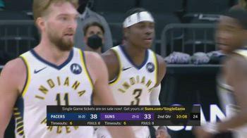 NBA, tripla doppia di Sabonis contro Phoenix
