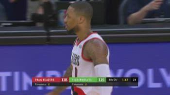 NBA Highlights: Minnesota-Portland 121-125