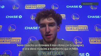 NBA, Nico Mannion sulla fiducia ritrovata e su Steve Kerr
