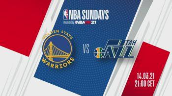 NBA Sundays, Golden State-Utah alle 21 su Sky Sport NBA
