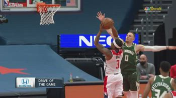 NBA, i 37 punti di Bradley Beal contro Milwaukee