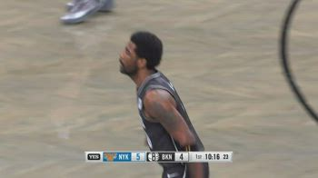 NBA, i 34 punti di Kyrie Irving contro i Knicks