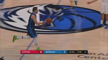NBA, la tripla doppia di Luka Doncic contro i Clippers