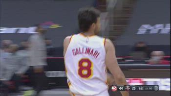 NBA, i 29 punti di Danilo Gallinari contro Houston