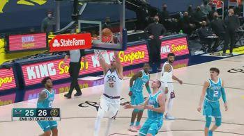 NBA, tripla doppia per Nikola Jokic contro Charlotte