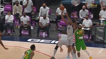 NBA, i 43 punti di Bradley Beal contro Utah