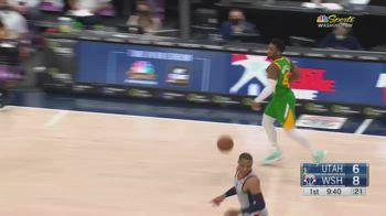 NBA, i 42 punti di Donovan Mitchell contro Washington