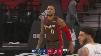 NBA, i 36 punti di Damian Lillard contro New Orleans