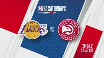 NBA Saturdays: Lakers-Hawks in streaming su Sky Sport