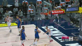 NBA, i 32 punti di Zach LaVine contro Denver