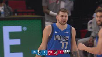 NBA, i 38 punti di Luka Doncic contro Portland