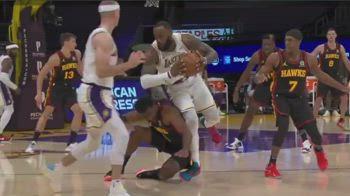 NBA, infortunio alla caviglia per LeBron James