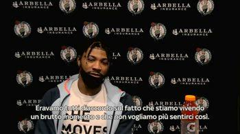 """NBA, Marcus Smart: """"Ci siamo parlati in spogliatoio"""""""
