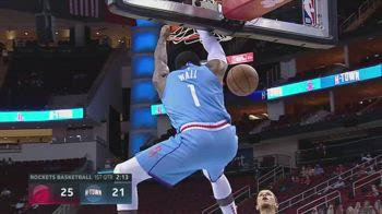 NBA, tripla doppia per John Wall contro Toronto