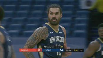 NBA, tripla doppia di Adams vs. OKC