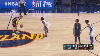 NBA, la prestazione di Nico Mannion contro Philadelphia