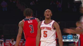 NBA Highlights: New York-Washington 106-102