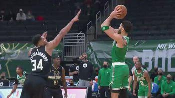NBA, 34 punti per Jayson Tatum contro Milwaukee