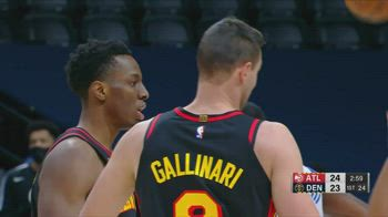 NBA, i 14 punti di Danilo Gallinari contro Denver
