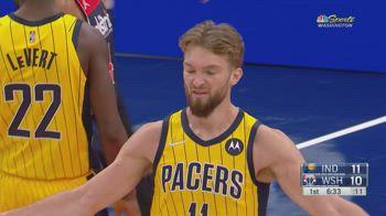 NBA, i 35 punti di Domantas Sabonis contro Washington