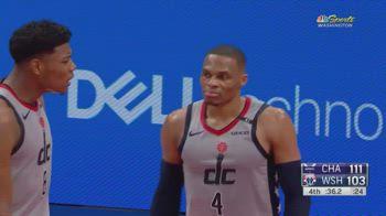 NBA, tripla doppia per Russell Westbrook contro Charlotte